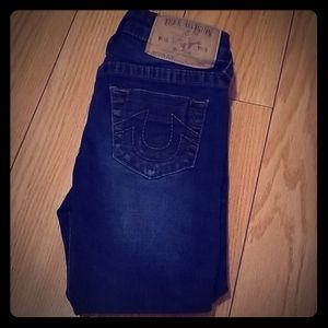 True Religion Boys Slim Jeans Size 4